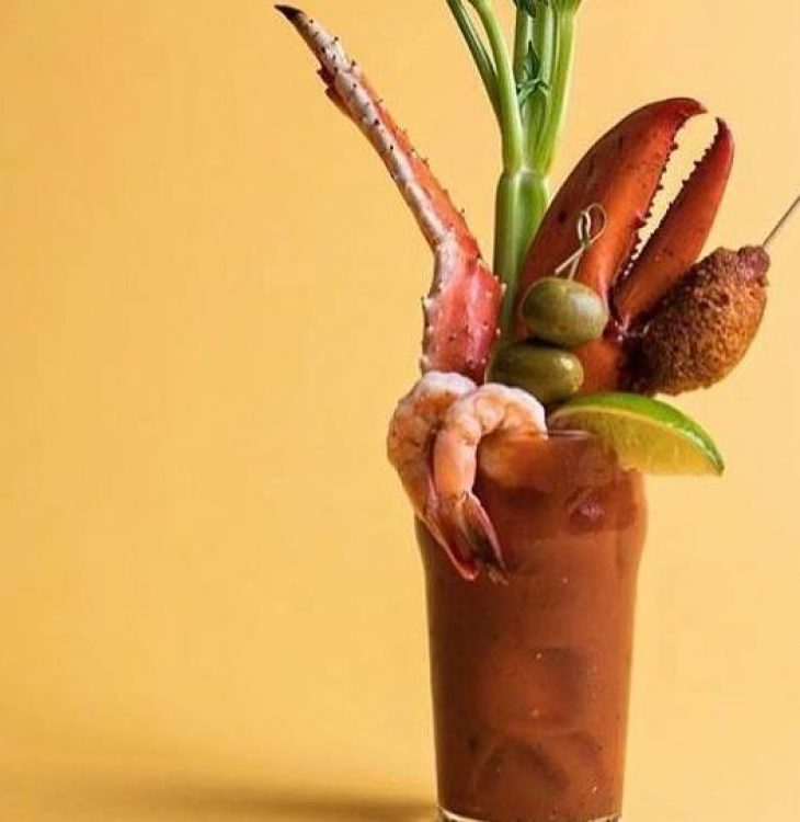 """""""The Captain"""" Bloody Mary"""