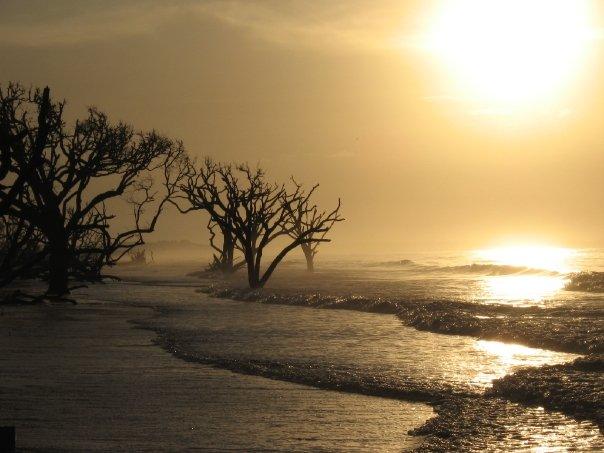 Edisto Beach has fewer tourists than Charleston Beaches