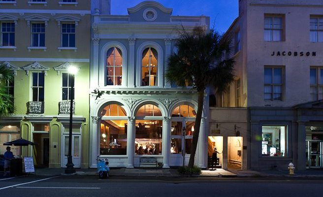 Historic Places to Eat in Charleston