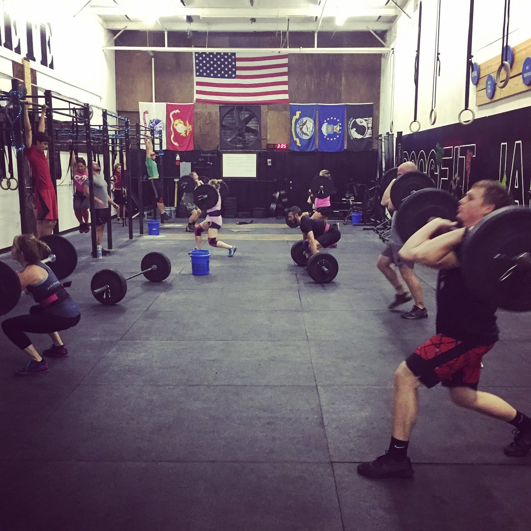 Charleston crossfit gyms gym zen for Summerville gyms
